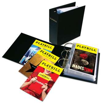 The Ultimate Playbill Binder - Archival Quality Storage for Contemporary Sized Playbills