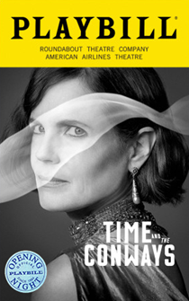 Time and the Conways Limited Edition Official Opening Night Playbill
