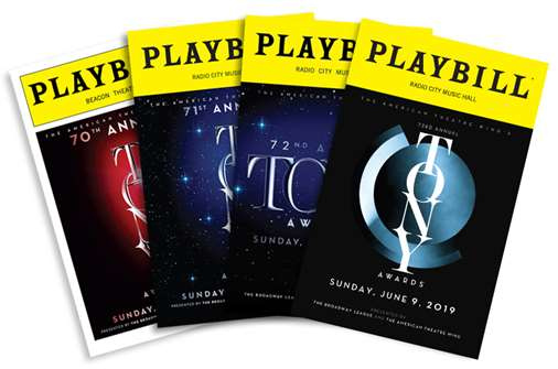 Tony Awards Playbill Collection - 2016-2019
