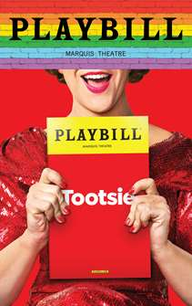 Tootsie - June 2019 Playbill with Rainbow Pride Logo
