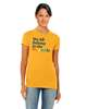 What The Constitution Means To Me  Slim Fit Preamble T-Shirt