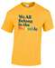 What The Constitution Means To Me Yellow Preamble T-Shirt - WTCMTMYPTEE
