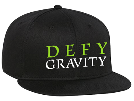 Wicked the Broadway Musical - Defy Gravity Logo Baseball Cap
