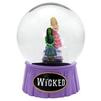 Wicked the Broadway Musical Popular Glitter Snowglobe