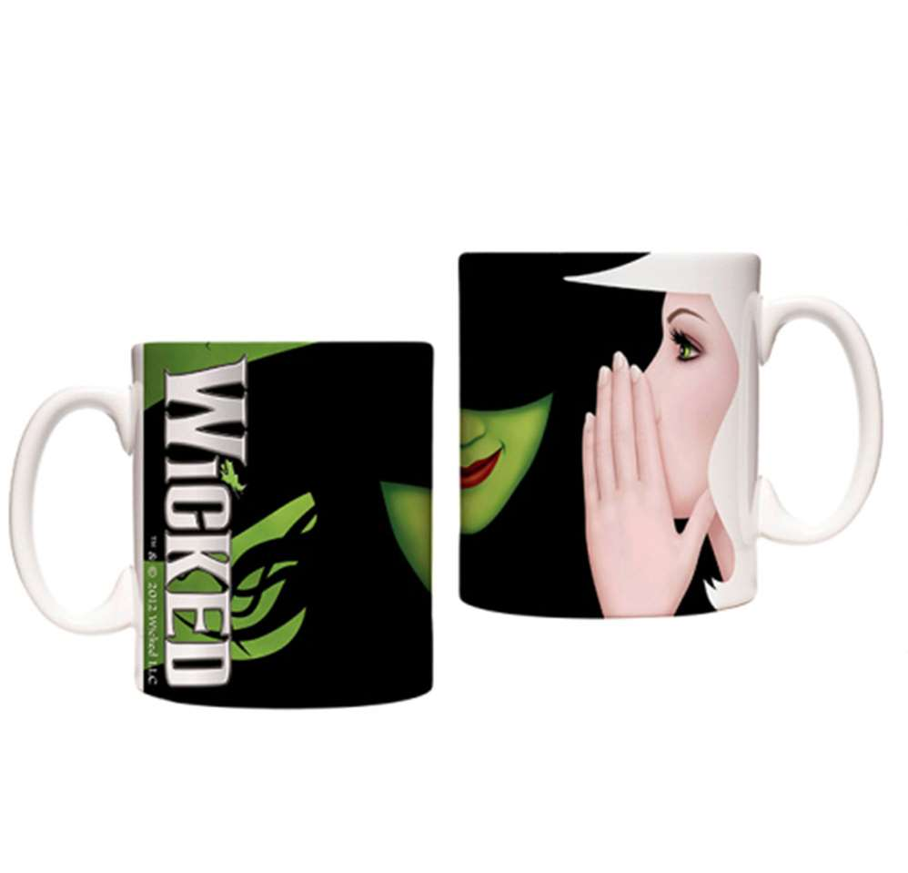 Wicked the Broadway Musical - Poster Art Coffee Mug