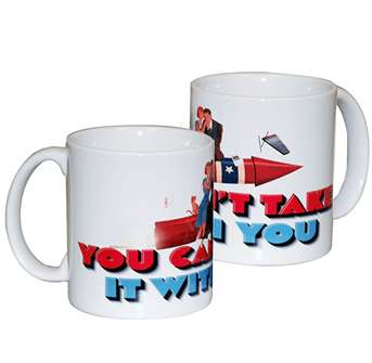 You Cant Take it With You the Broadway Play - Logo Coffee Mug