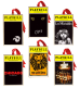 2012 Playbill Ornaments from the Broadway Cares Classic Collection -  Set of Six - BORQE9