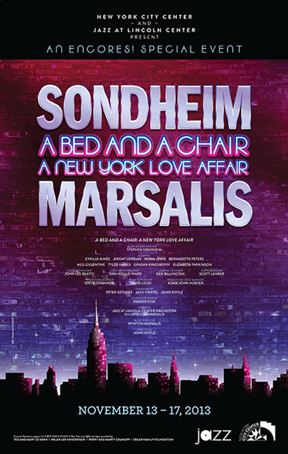 A Bed and a Chair: A New York Love Affair Poster