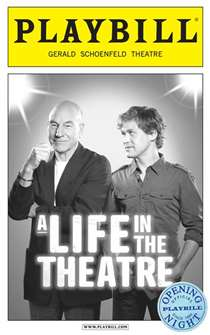 A Life in the Theatre Limited Edition Official Opening Night Playbill