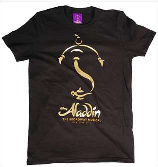 Aladdin the Broadway Musical - Logo T-Shirt for Adults