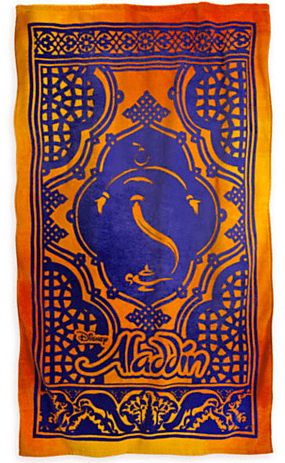 Aladdin the Broadway Musical - Magic Carpet Beach Towel ...
