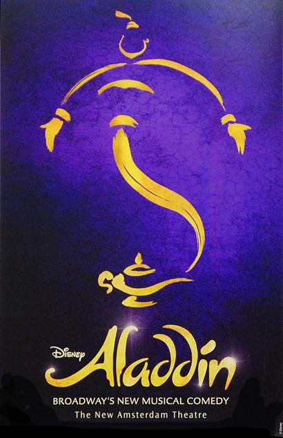 Aladdin The Musical Broadway Poster Aladdin The Musical