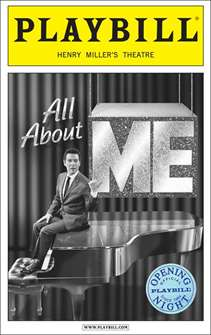 All About Me Limited Edition Official Opening Night Playbill - Michael Feinstein Cover