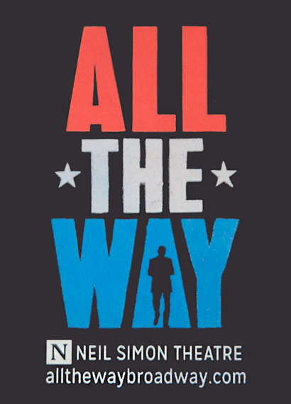 All the Way the Broadway Play - Logo Magnet