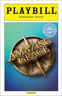 Amazing Grace Limited Edition Official Opening Night Playbill