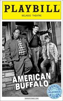American Buffalo Limited Edition Official Opening Night Playbill