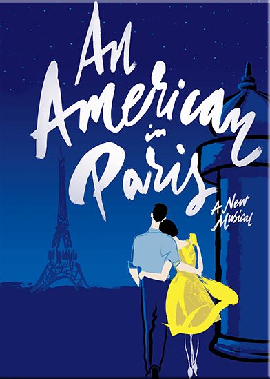 An American in Paris - Logo Magnet