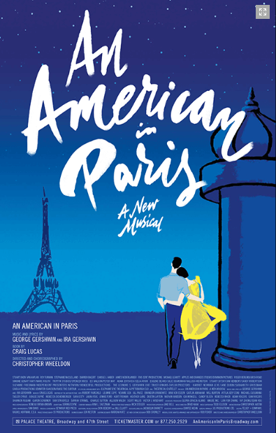 An American in Paris - Official Broadway Poster