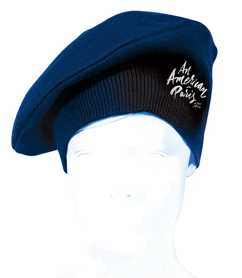An American in Paris the Broadway Musical - Logo Beret