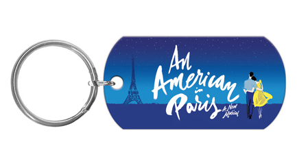 An American in Paris the Broadway Musical - Logo Keychain