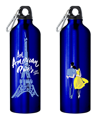 An American in Paris the Broadway Musical - Logo Water Bottle