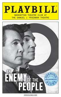 An Enemy of the People Limited Edition Opening Night Playbill