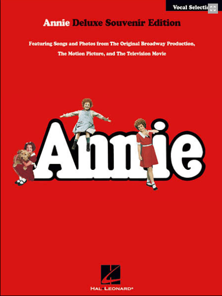 Annie Deluxe Souvenir Edition Piano/Vocal Selections Songbook