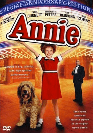 Annie the Movie Musical (1982)  - Special Anniversary Edition DVD