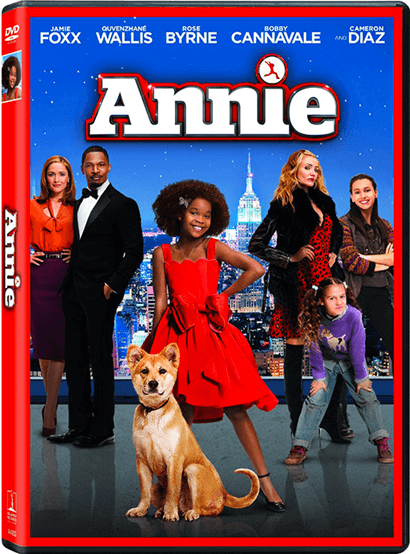 Annie the Movie Musical (2014) DVD