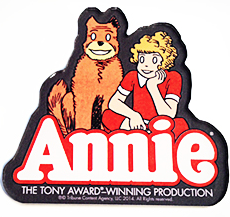 Annie the Musical - Logo Magnet