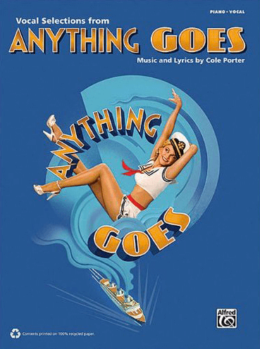 Anything Goes (2011 Revival) Piano/Vocal Selections Songbook