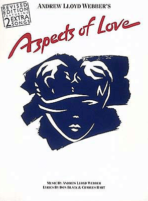 Aspects of Love Piano/Vocal Selections Songbook