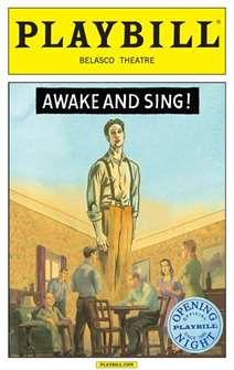 Awake and Sing Limited Edition Official Opening Night Playbill
