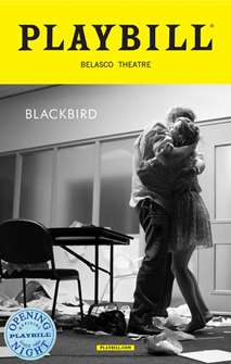 Blackbird Limited Edition Official Opening Night Playbill