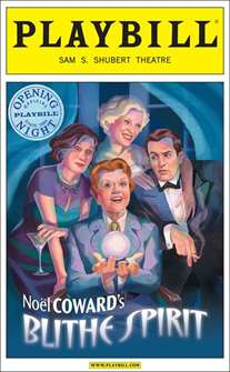 Blithe Spirit Limited Edition Official Opening Night Playbill