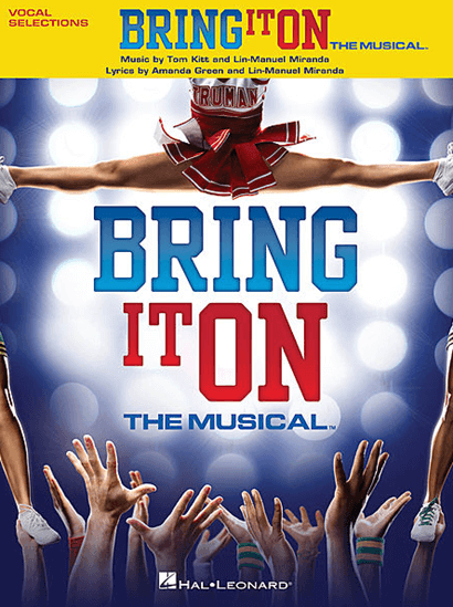 Bring it On the Broadway Musical Piano/Vocal Selections Songbook