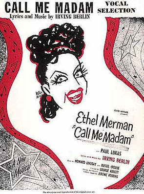 Call Me Madam Piano/Vocal Selections Songbook
