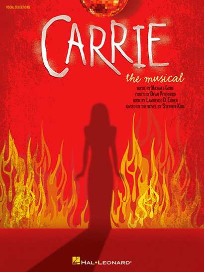 Carrie the Musical Piano/Vocal Selections Songbook