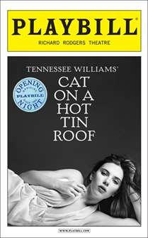Cat on a Hot Tin Roof (2013) -  Limited Edition Official Opening Night Playbill