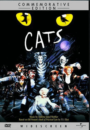 Cats the Musical Filmed Live on Stage - Commemorative Edition DVD