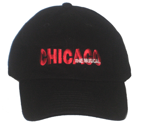 Chicago the Broadway Musical - Logo Baseball Cap