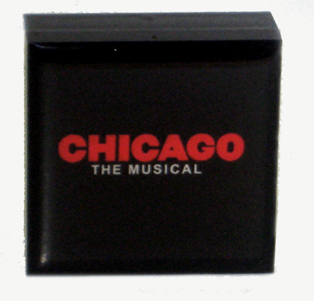 Chicago the Broadway Musical - Logo Matchbox