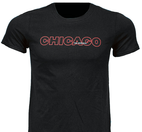 Chicago the Broadway Musical - Show Logo T-Shirt