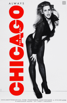 Chicago the Musical Broadway Poster