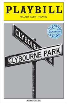 Clybourne Park Limited Edition Official Opening Night Playbill