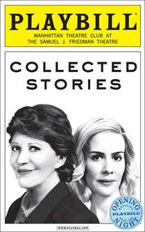 Collected Stories Limited Edition Official Opening Night Playbill