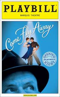 Come Fly Away Limited Edition Official Opening Night Playbill