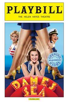 Dames at Sea Limited Edition Official Opening Night Playbill