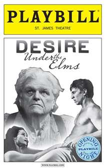 Desire Under the Elms Limited Edition Official Opening Night Playbill