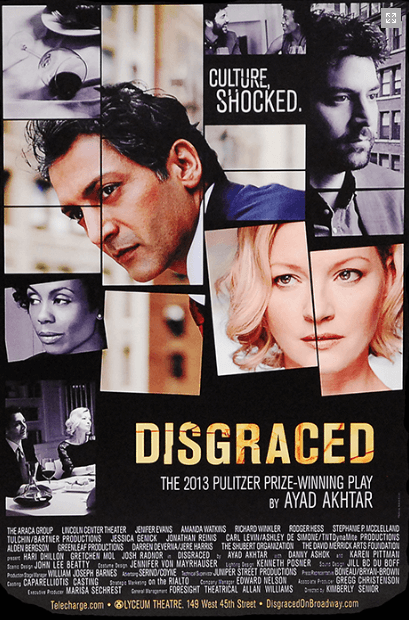 Disgraced Broadway Poster
